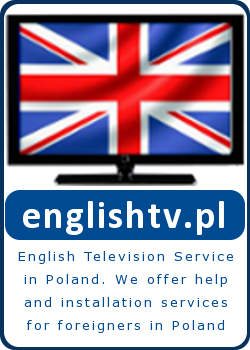 English television service in Poland - We offer installation services for foreigners in Poland